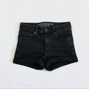 AEO Super Super Stretch Hi-Rise Shorts